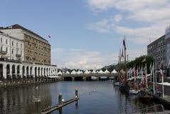 Λίμνη Αμβούργο Στοκ εικόνες με δικαίωμα ελεύθερης χρήσης