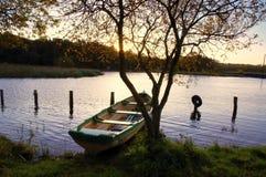 λίμνη αυγής ennell Στοκ Φωτογραφία