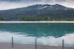 Λίμνη Αυστρία Worthersee Στοκ εικόνες με δικαίωμα ελεύθερης χρήσης