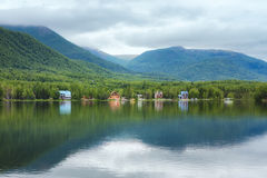 Λίμνη Αλάσκα καθρεφτών Στοκ εικόνα με δικαίωμα ελεύθερης χρήσης