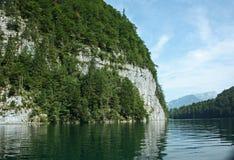 Λίμνη Βαυαρία Γερμανία Koenigssee Στοκ Εικόνα
