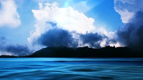 Λίμνη βουνών, βίντεο HD απεικόνιση αποθεμάτων