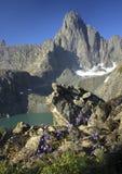 Λίμνη βουνών Ουραλίων στοκ φωτογραφία με δικαίωμα ελεύθερης χρήσης