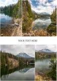 Λίμνη βουνών στη Σλοβακία Tatra Στοκ φωτογραφίες με δικαίωμα ελεύθερης χρήσης