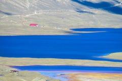 Λίμνη βουνών στις Άνδεις Στοκ Φωτογραφία