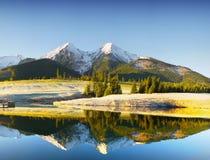 Λίμνη βουνών, υψηλό Tatras, Σλοβακία Στοκ εικόνες με δικαίωμα ελεύθερης χρήσης