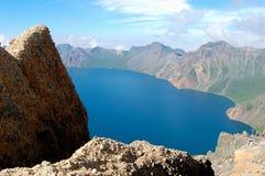 Λίμνη βουνών στοκ εικόνες με δικαίωμα ελεύθερης χρήσης