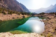 Λίμνη βουνών Fann Στοκ φωτογραφίες με δικαίωμα ελεύθερης χρήσης