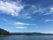 Λίμνη βουνών Smith Στοκ φωτογραφία με δικαίωμα ελεύθερης χρήσης