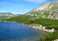 Λίμνη βουνών Tatras στην Πολωνία Στοκ Εικόνα