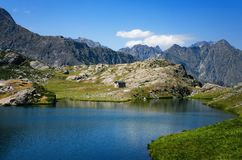 Λίμνη βουνών Vej del Bouc Στοκ Εικόνα