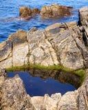 Λίμνη βράχου, Ballycastle, Antrim Στοκ φωτογραφία με δικαίωμα ελεύθερης χρήσης