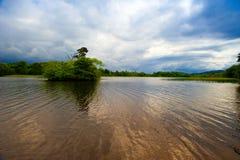 λίμνη βραγχίων Στοκ φωτογραφία με δικαίωμα ελεύθερης χρήσης