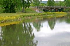 λίμνη γεφυρών στοκ εικόνα με δικαίωμα ελεύθερης χρήσης