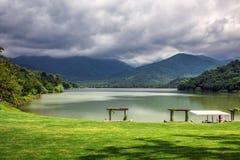 Λίμνη Γεωργία Kvareli Στοκ Φωτογραφίες