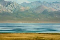 Λίμνη γιος-Kul Στοκ Εικόνες