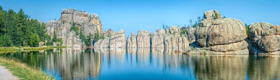 λίμνη δασική Στοκ Φωτογραφίες