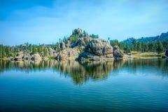 λίμνη δασική Στοκ Φωτογραφία