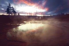 Λίμνη δόξας πρωινού Στοκ Εικόνες