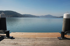 λίμνη δύο στυλίσκων Στοκ εικόνες με δικαίωμα ελεύθερης χρήσης