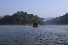 Λίμνη, εθνικό πάρκο Periyar, Κεράλα, Ινδία στοκ φωτογραφίες με δικαίωμα ελεύθερης χρήσης