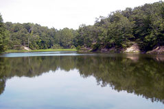 λίμνη ειρηνική Στοκ εικόνα με δικαίωμα ελεύθερης χρήσης