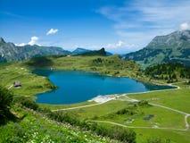 λίμνη Ελβετία ορών Στοκ Φωτογραφίες