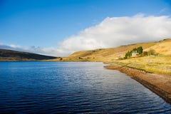 Λίμνη δεξαμενών Widdop στο Δυτικό Γιορκσάιρ, UK Στοκ εικόνα με δικαίωμα ελεύθερης χρήσης