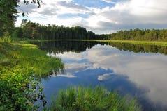 λίμνη επαρχίας φυσική στοκ εικόνα