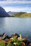 Λίμνη Ελβετία βουνών Trubsee Στοκ εικόνα με δικαίωμα ελεύθερης χρήσης