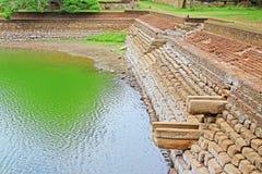 Λίμνη ελεφάντων Anuradhapura, παγκόσμια κληρονομιά της ΟΥΝΕΣΚΟ της Σρι Λάνκα Στοκ Φωτογραφία