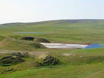 Λίμνη θερινό tundra στοκ φωτογραφία με δικαίωμα ελεύθερης χρήσης
