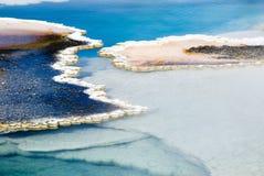 λίμνη θερμική Στοκ εικόνα με δικαίωμα ελεύθερης χρήσης