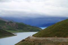 λίμνη Θιβέτ στοκ εικόνες