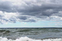 λίμνη θυελλώδης Στοκ εικόνες με δικαίωμα ελεύθερης χρήσης