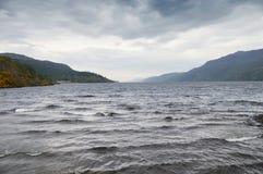 Λίμνη λιμνών ness νεφελώδης Στοκ Εικόνα