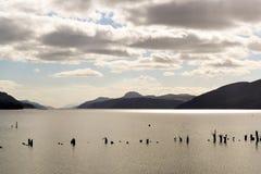 Λίμνη λιμνών ness στη Σκωτία Στοκ Φωτογραφίες