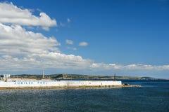 Λίμνη ιωβηλαίου, Penzance, Κορνουάλλη, Αγγλία Στοκ Φωτογραφία