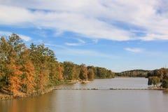Λίμνη Ι φθινοπώρου Στοκ φωτογραφία με δικαίωμα ελεύθερης χρήσης