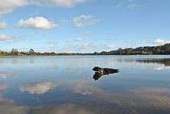 Λίμνη καθρεφτών Στοκ Φωτογραφίες