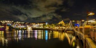 Λίμνη και άποψη ανοίξεων της Disney Στοκ Εικόνες