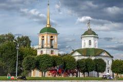 Λίμνη και ναός του όλος-φιλεύσπλαχνου λυτρωτή Στοκ εικόνες με δικαίωμα ελεύθερης χρήσης