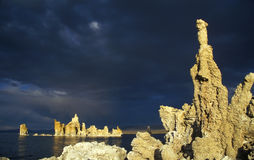 λίμνη Καλιφόρνιας μονο Στοκ εικόνες με δικαίωμα ελεύθερης χρήσης