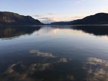 Λίμνη Καναδάς αυλακώματος Στοκ Φωτογραφία