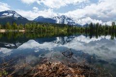 Λίμνη Καναδάς Στοκ φωτογραφία με δικαίωμα ελεύθερης χρήσης