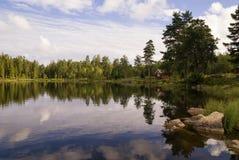 Λίμνη κοντά σε Annaboda στοκ εικόνα με δικαίωμα ελεύθερης χρήσης