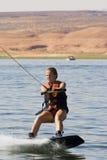λίμνη κοριτσιών powe που στοκ φωτογραφίες με δικαίωμα ελεύθερης χρήσης