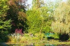 Λίμνη κρίνων νερού Monet σε Giverny Στοκ Εικόνες
