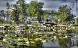 Λίμνη κρίνων Στοκ φωτογραφίες με δικαίωμα ελεύθερης χρήσης