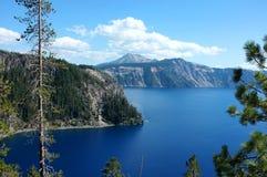 Λίμνη κρατήρων, Η, ΗΠΑ Στοκ φωτογραφία με δικαίωμα ελεύθερης χρήσης
